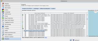 Screenshots of package josm