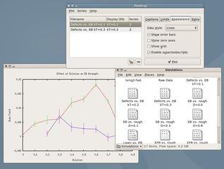Screenshots of package plotdrop