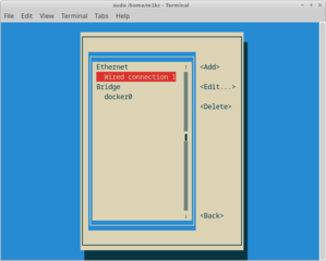 Screenshots of package network-manager