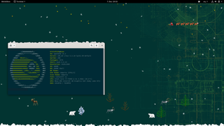 Screenshots of package xsnow